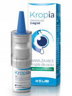 KROPIA 0,3% KROPLE DO OCZU 10 ML