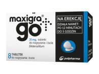 MAXIGRA GO 25 MG X 8 TABL.DO SSANIA