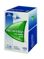 NICORETTE ICY WHITE 2 MG X 105 SZT