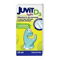 JUVIT BABY D3 KROPLE 10 ML