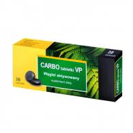 CARBO MEDICINALIS 150 MG X 20 TABLETKI