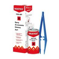 MUSTICO TICK-OFF - SPRAY DO US. KLESZCZY 2W1  AEROZOL 8 ML