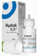 HYABAK KROPLE DO OCZU 10 ML