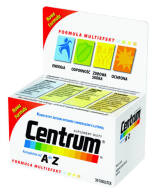 CENTRUM MULTIEFEKT OD A DO Z   X 30 TABLETKI