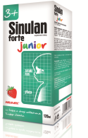 SINULAN FORTE JUNIOR  SYROP 120 ML