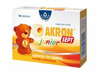 AKRON SEPT JUNIOR X 18 TABLETKI DO SSANIA
