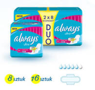 PODPASKI ALWAYS ULTRA SUPER PLUS 2 X 8 SZT DUOPACK