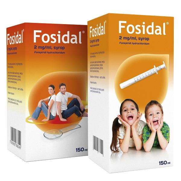 FOSIDAL 2 MG/ML SYROP 150 ML
