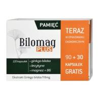 BILOMAG PLUS 90 +30 TABLETEK
