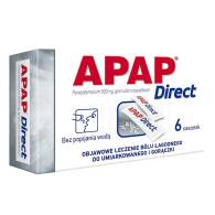 APAP DIRECT X 6 SASZETKI
