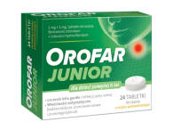 OROFAR JUNIOR X 24 TABL.