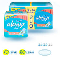 PODPASKI ALWAYS ULTRA NORMAL PLUS 2 X 10 SZT DUOPACK