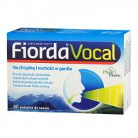 FIORDA VOCAL  X 30 PASTYLEK